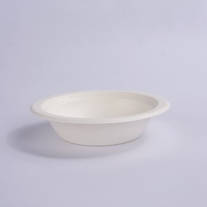 ZZ Eco Products Compostable Tableware Eco-Friendly 12 OZ Round Bowl, 8/125