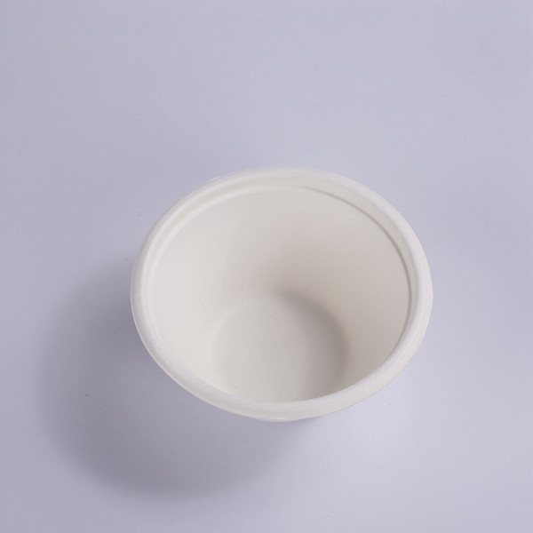 ZZ Eco Products Biodegradable 7 OZ Sugarcane Bagasse Souffle Cup/Portion Cup-1600/Case Featured Image