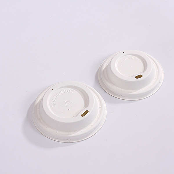 ZZ Eco Products Sugarcane Bagasse Coffee Cup Lid-Fits 8, 12 and 16 oz – 1000 count box Featured Image