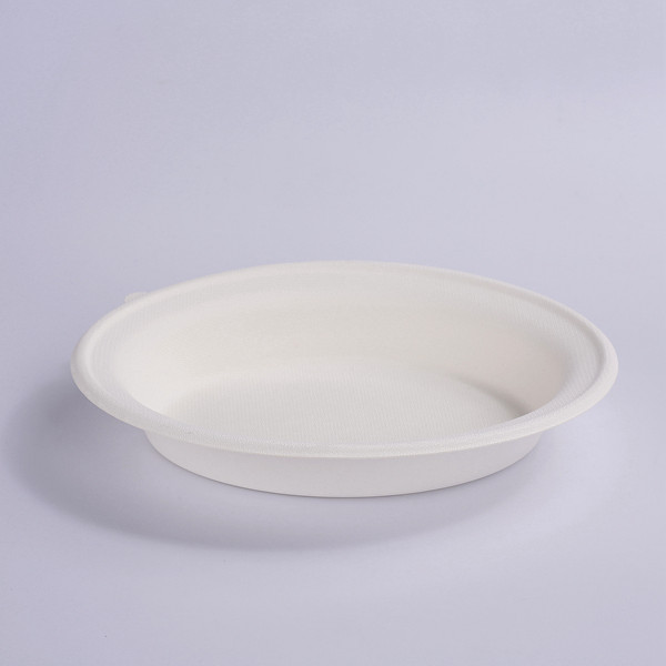 ZZ Eco Products Compostable Tableware Eco-Friendly 32 OZ Oval Bowl Salad Bowl, 2/125 Featured Image