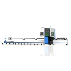 Laser metal tubes cutting machine