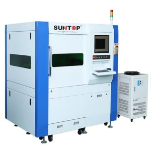 Ultra-high precision small fiber laser cutter (ST-FC6060L)