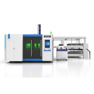 Fully automatic fiber laser cutting machine