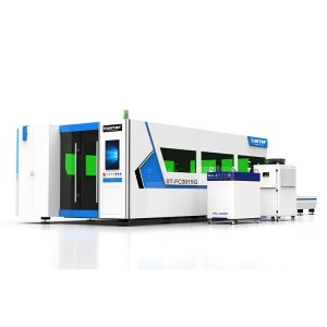 Full enclosed fiber laser cutter (ST-FC3015G)