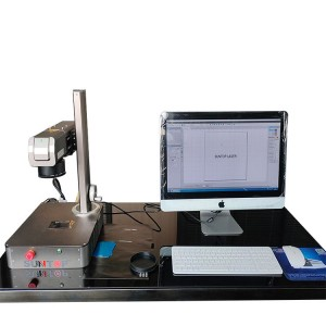 Mini smart fiber laser marking machine