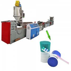 PA Nylon toothbrush fiber extruding machine