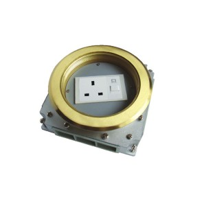 HTD-160  Open Cover Type Floor Socket