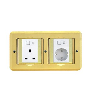 HTD-1102 Floor Socket Outlet