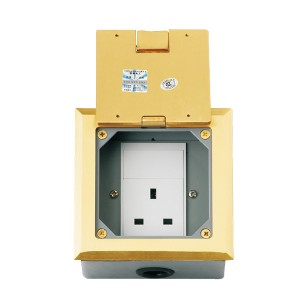 HTD-120K  Open Cover Type Floor Socket