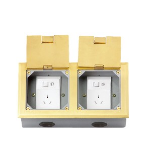 HTD-2242K  Open Cover Type Floor Socket