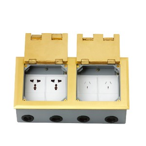 HTD-2702K  Open Cover Type Floor Socket