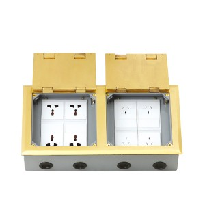 HTD-3402K  Open Cover Type Floor Socket