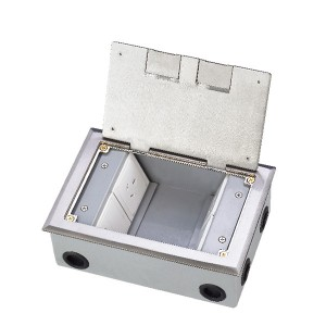 HTD-145K  Open Cover Type Floor Socket