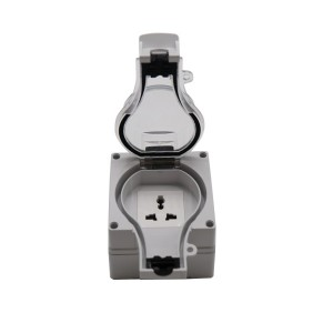 IP66 New Series Waterproof Socket 1 Gang Multi Socket