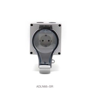 Schuko Series Surface Mount High Standard Waterproof and Dustproof IP66 Socket