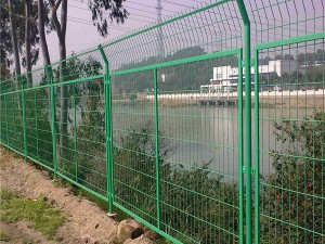 Framework welded fence