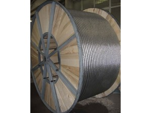 Galvanized steel rope
