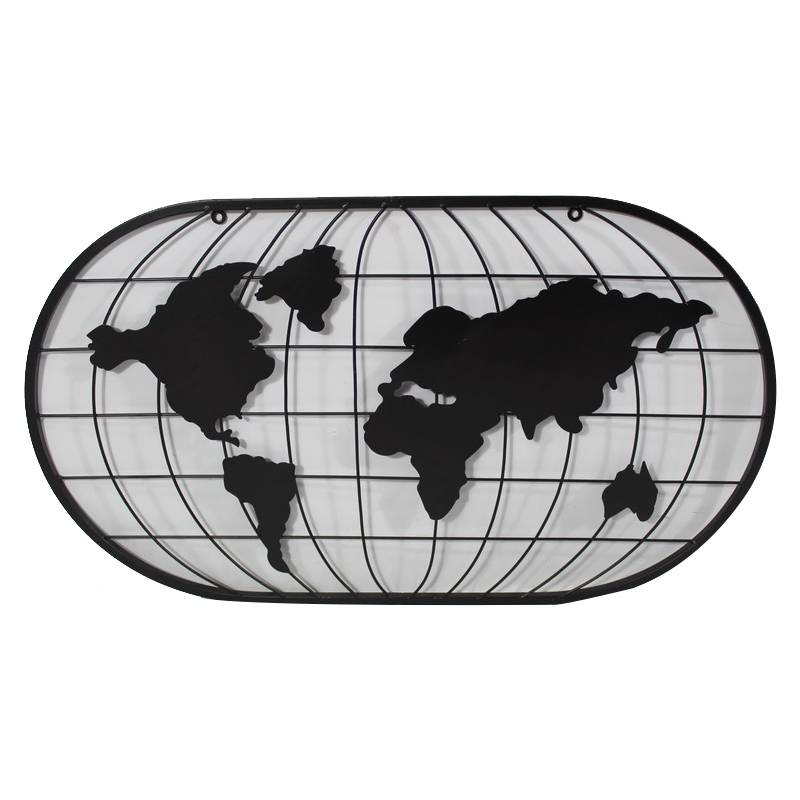 World Map Wall Art for Home Decoration Featured Image