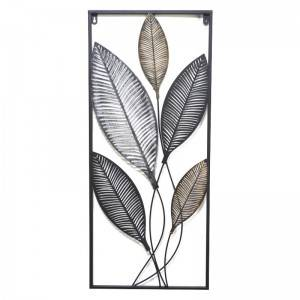 Indoor Metal Flower Wall Art Wrought Iron Home Decoration