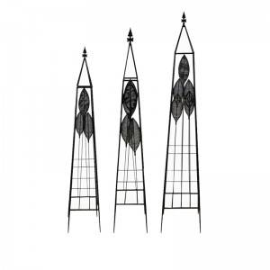 2020 Factory New Iron Flower Garden stakes Climbing Plants Frame