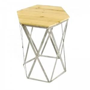 Factory direct Furniture selling Modern tea table simple style iron coffee table