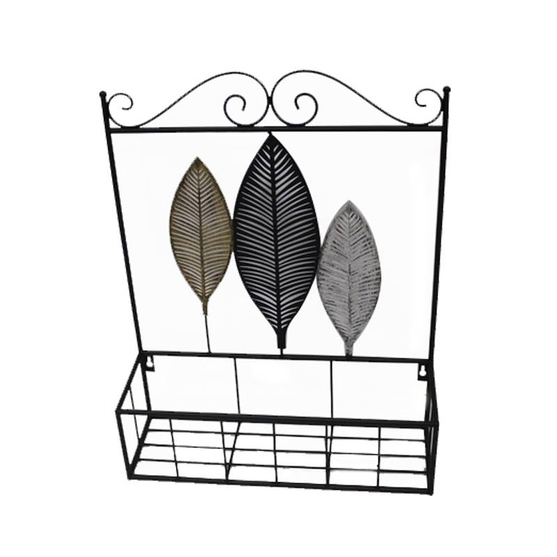 Iron Shelf for Garden Stake and Lawn Decoration Garden Decoration, Wall Decoration, Storage Shelf Decor Featured Image