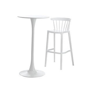 Special Price for China Modern Plastic PP Restaurant Coffee Bar Chair