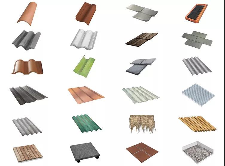 Roofing materials, essential knowledge points for architects