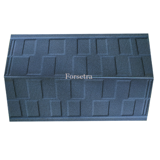 High Quality Colorful Shingle Type Stone Coated Steel Roofing Tiles With Soncap