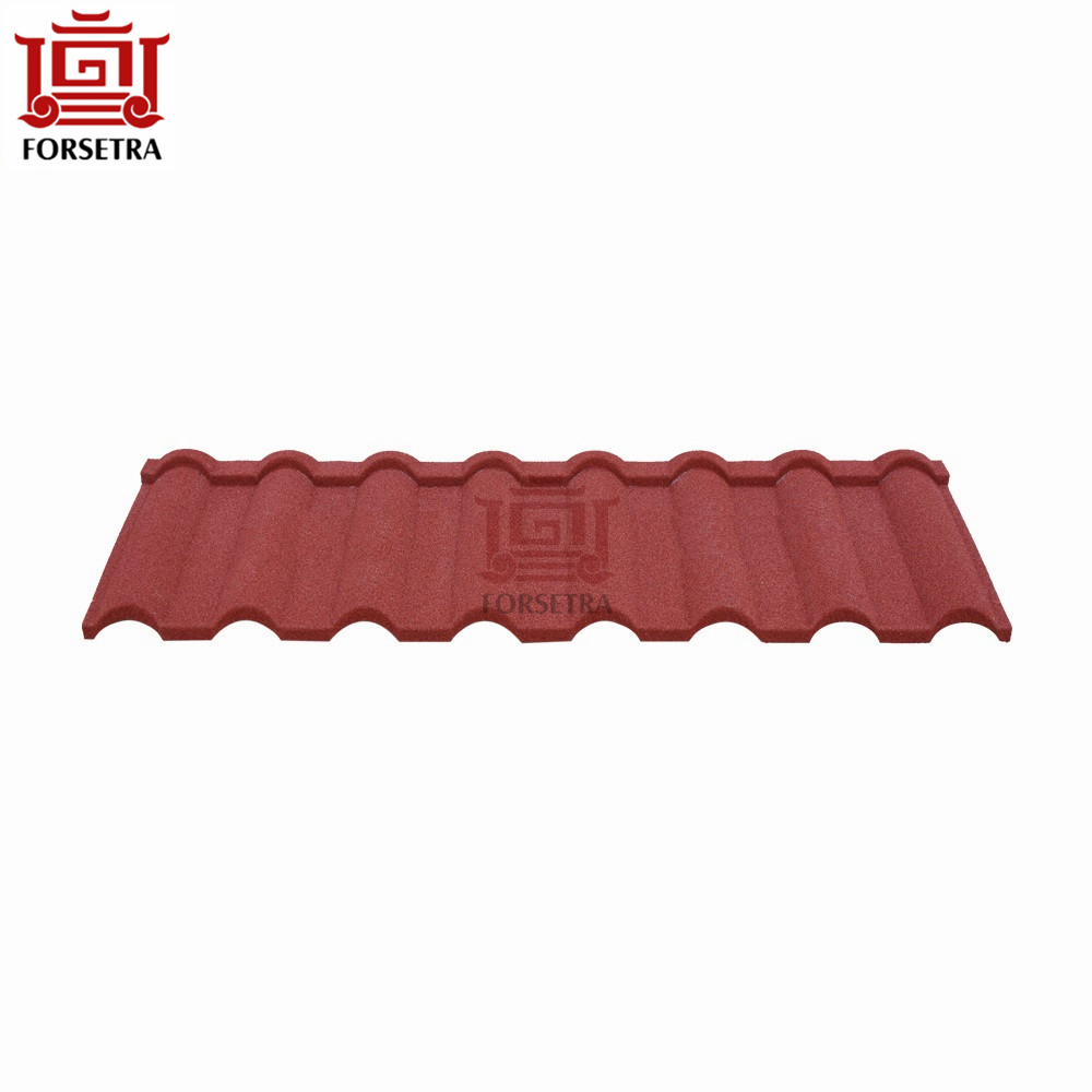Best Quality Imported Pure Milano Red and Black Stone Coated Roofing Sheet in Nigeria Market
