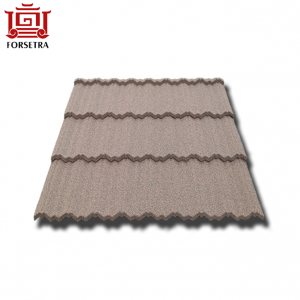 ISO9001 Certificate Colorful Stone Coated Roofing Sheet Roofing Materials With Competitive Price