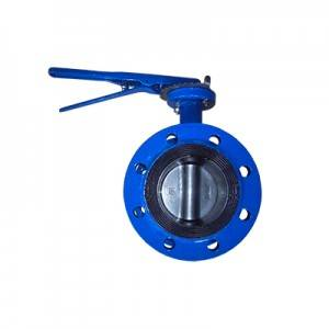 China Wholesale Sluice Butterfly Valve Factory - FD01-BV1DF-2L(Double flanged Butterfly Valve–Handle Operation)  – Fortis