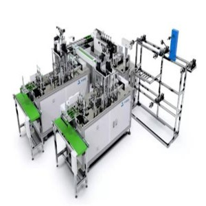 High Output 9KW 300L/min Dust Mask Making Machine