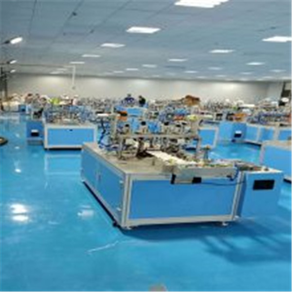 High Output 9KW 300L/min Dust Mask Making Machine Featured Image