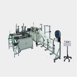 Aluminum Alloy 11KW 6KG/cm2 3 Layers Disposable Mask Making Machine