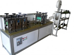 Earloop Face Mask Production Machine With Automatic Conveyor Belt