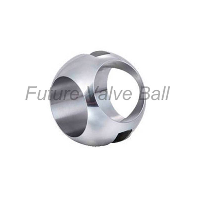 T-type three way ball QC-301