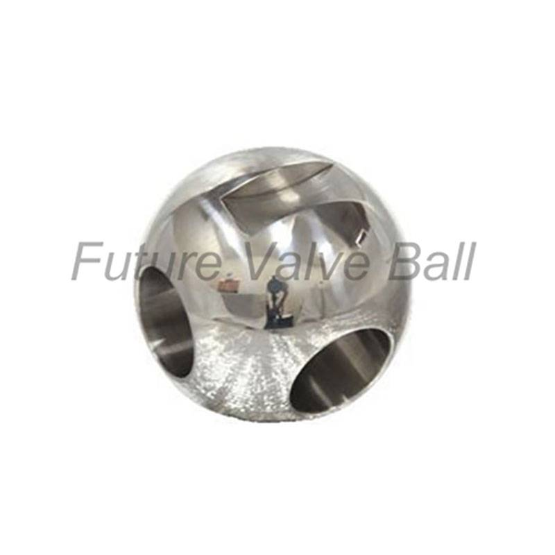L-type three way ball QC-302