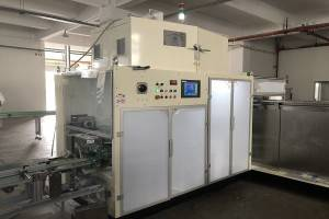 Full Auto Instant Noodle Packaging Machine 4200kg ISO9000 Certification
