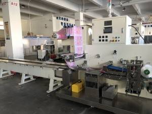 GM083N Pillow Type Packaging Machine Three phrase five-cables system system