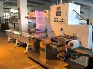 Full Servo Three Side Sealing Noodles Packing Machine Pillow Type