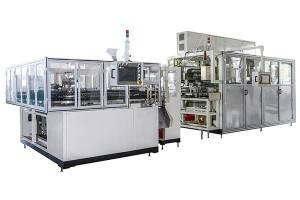 High Speed Baby Diaper Production Line Full Servo Adult Diaper Counting Stacking Machine
