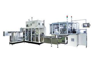 Full Set Sanitary Napkin Packing Machine Connected With Counting Stacker