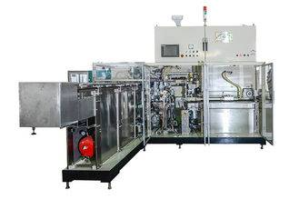 Sanitary Napkin Pads Packaging Machine 3Ph 380Vac ±5% Power Supply Featured Image