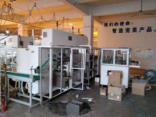 Full servo high speed sanitary napkin pads counting stacking machine