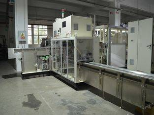 Full Servo Ready Bags Sanitary Napkin Packing Machine  ISO9000 Certification