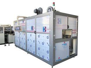 Full Automatic Baby Diaper Packaging Machine Line Rolling Film Bag