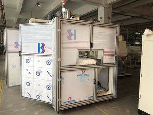 Full automatic Baby Diaper Packaging Machine / Mitubishi system wrapping machine