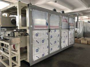 Self Designed Automatic Baby Diaper Machine Pre-Made Mitsubishi PLC