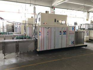 Pre-made Bags Sanitary Napkin Wrapping Machine Single Layer Thickness ≤ 70μm